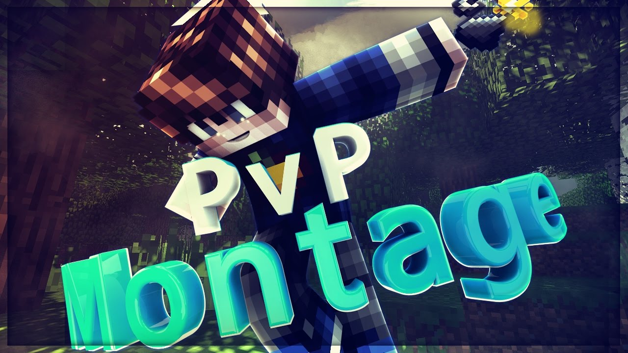 minecraft pvp montage 11 new thumbnail youtube. Black Bedroom Furniture Sets. Home Design Ideas