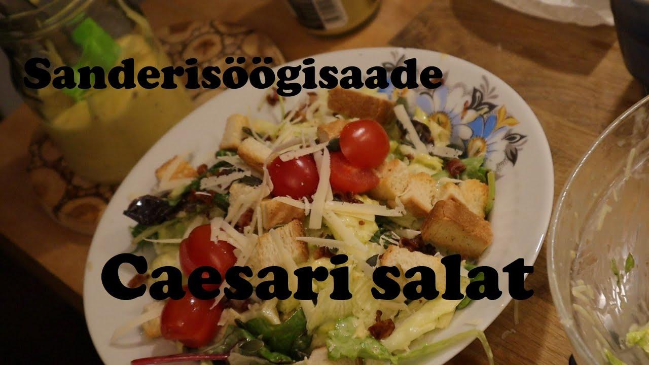 Sanderisöögisaade - Caesari salat
