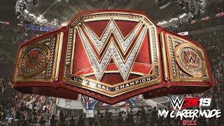 WWE 2K19 مسيرتي الوضعية - Ep 22 - AJ STYLES مباراة!! (WWE 2K19)