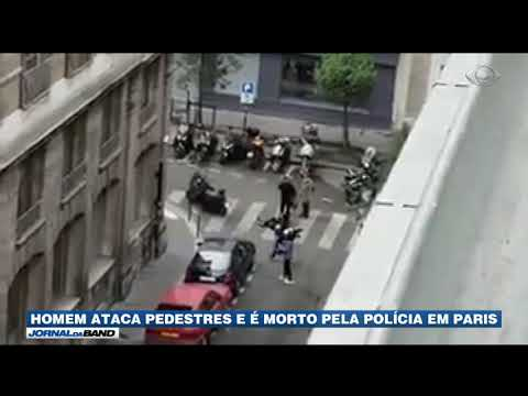 Homem Esfaqueia Pedestres E é Morto Pela Polícia
