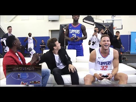 Clippers Media Day Arcade   9/25/17