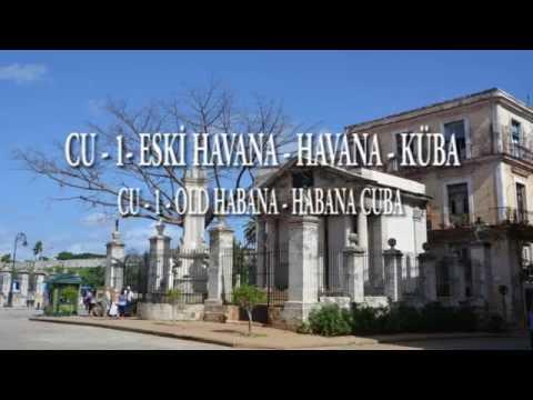 ESKİ HAVANA-HAVANA-KÜBA - OLD HABANA-HABANA–CUBA -1-CU
