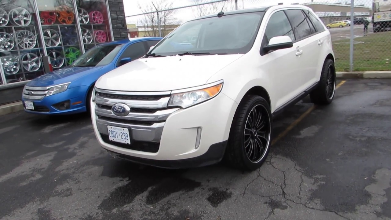 Ford Edge Riding On  Inch Custom Rims Tires