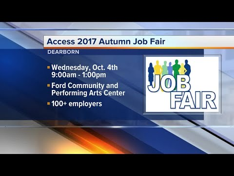 100 employers hiring at Dearborn job fair October 4, 2017