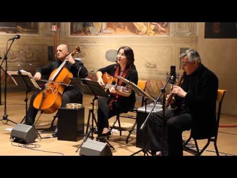 Canzoni da battello  Venezia 1700  - LIVE trio Rachele Colombo