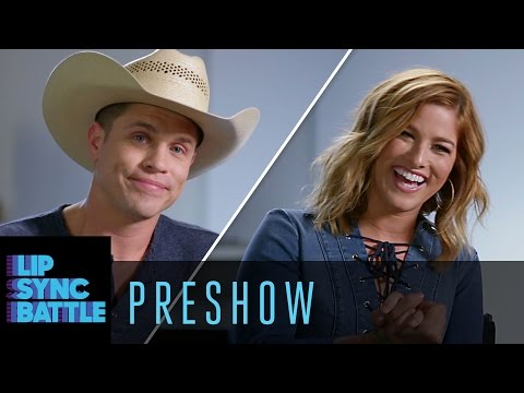 Country Holidays Preshow with Cassadee Pope & Dustin Lynch | Lip Sync Battle