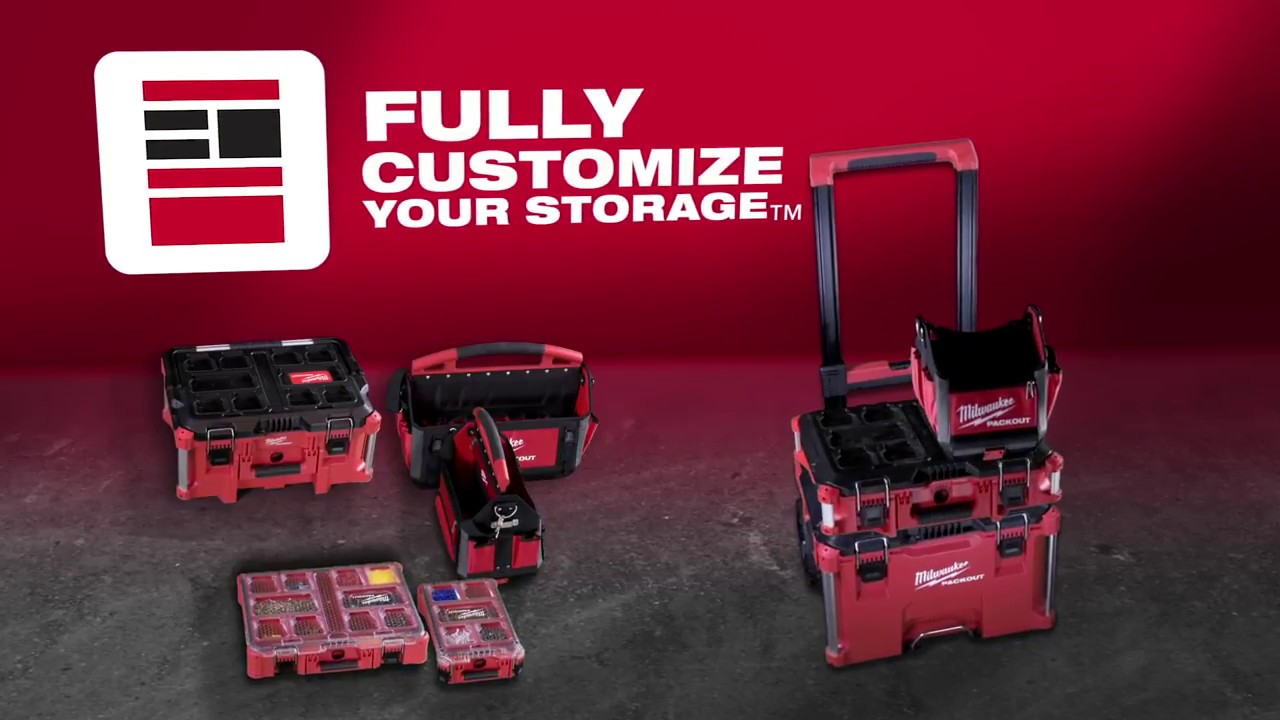 Promo Milwaukee 48 22 8426 Packout Rolling Tool Box