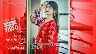 Girl Status | Lehenga Whatsapp Status || Lehenga Female Version || Jass Manak New Punjabi Song