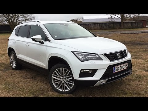 seat ateca xcellence 2 0 tdi 4x4 dsg 190 hk 2017 review youtube. Black Bedroom Furniture Sets. Home Design Ideas