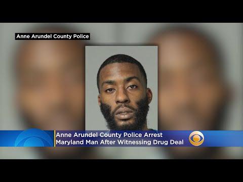 Anne Arundel County Police Arrest Maryland Man After Witnessing Drug Deal