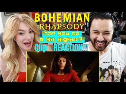 BOHEMIAN RHAPSODY  Can You Go A Bit Higher? CLIP  REACTION!!!