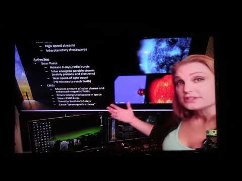 Space Weather Woman,  Dr Tamitha Skov