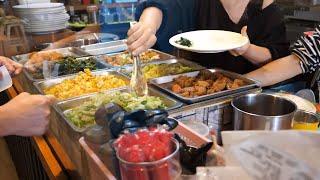 Taiwan Restaurant Food - Creamy Seafood Pasta, Chicken Pesto Pasta