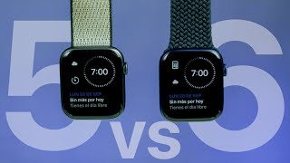 Apple Watch Serie 6 vs 5 - Diferencias y Cual Comprar