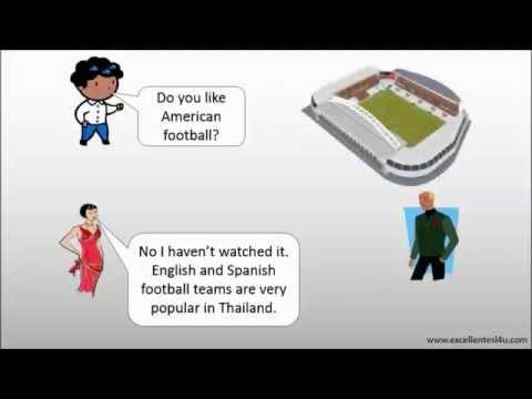 ESL sport conversation 2