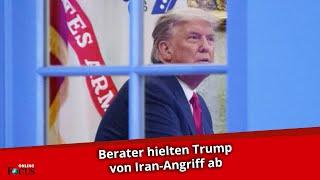 Donald Trump plante nach US-Wahl Iran-Angriff – Berater verhinderten Vorhaben