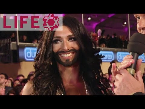 Conchita Wurst auf dem Life Ball 2013 | Magenta Carpet