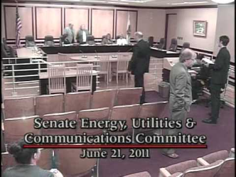 Senate Energy, Utilities & Communications Committee 2/2 6/21/2011