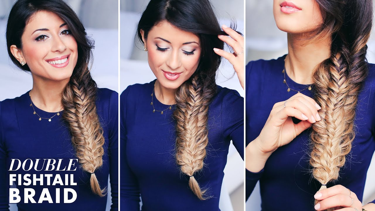 French fishtail braid tutorial step by step