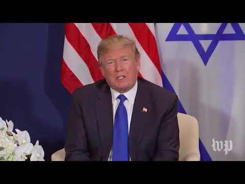 Trump Netanyahu Davos Press Conference 2018