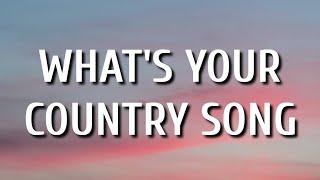Thomas Rhett - What's Your Country Song (Lyrics)