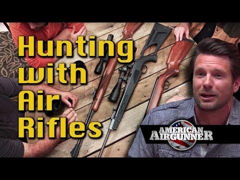 Hunting With Break Barrel Airguns And Air Rifles : American Airgunner