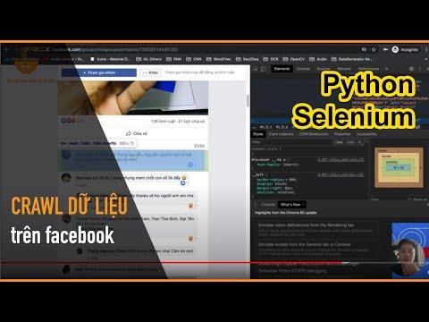 Chi tiết cách login và crawl dữ liệu từ Facebook bằng Python - Mì AI | Thủ thuật hack hay 1