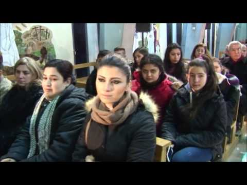 Aleppo, Syria Vassula's recent visit  2017- conference Fr Salesian