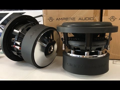 """AMPERE AUDIO 2.5 RVE 8""""   800 WATTS RMS   SUBWOOFER"""