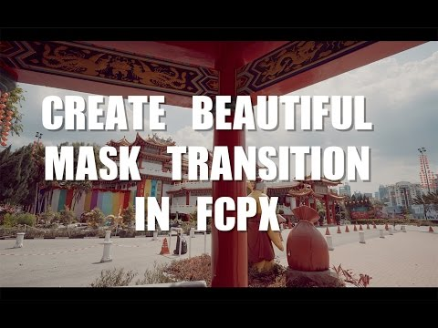 How to Create a Beautiful Mask Transition in FCPX using Objects