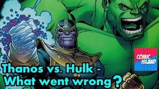 Thanos vs. Hulk Follow-Up - What happened to Jim Starlin?