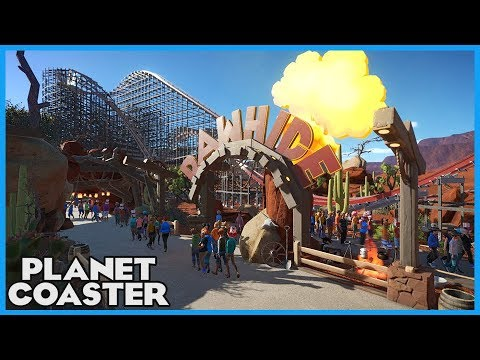 RAWHIDE RMC! Coaster Spotlight 290 #PlanetCoaster