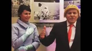 Renzo Rosso parodia Trump