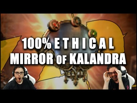 Path of exile ziggyd 39 s 100 ethical mirror of kalandra for Mirror of kalandra