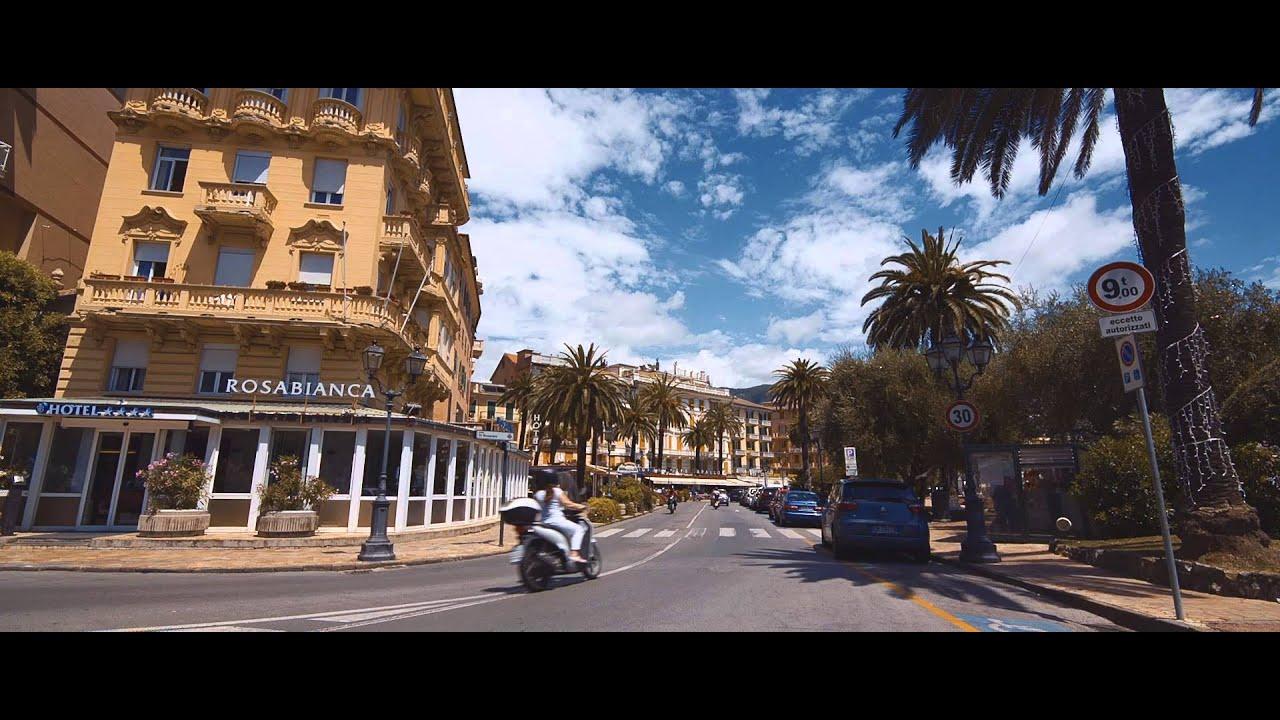 Rapallo italy youtube for Be italia