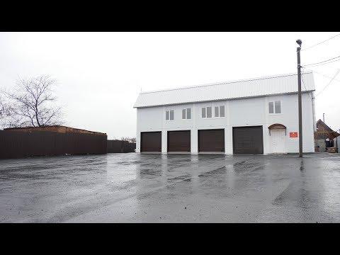 Спасательный отряд Шадринска работает в новом здании