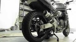 03 Suzuki Bandit 1200 new exhaust