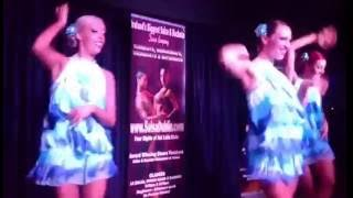 Salsa Dublin- Girls dance group performance (on2)