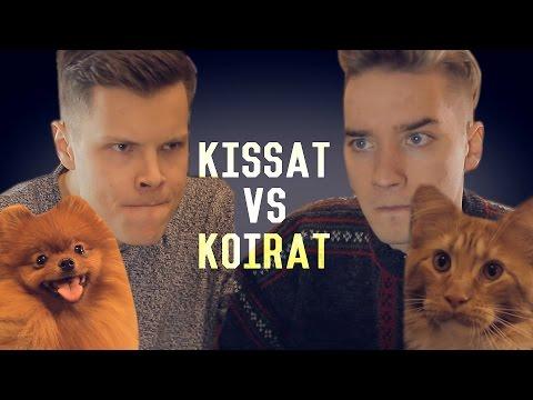 KOIRAT VS KISSAT (Rap-Battle)
