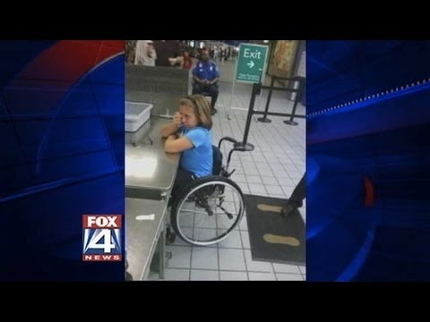 how to get a wheelchair at the airport