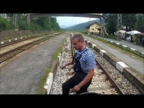 Travel Trains Bulgaria -  Sofia to Mezdra  (4 x Speed)