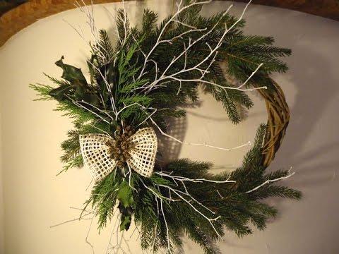 Decorazioni di natale ghirlanda natalizia fai da te for Decorazioni fai da te