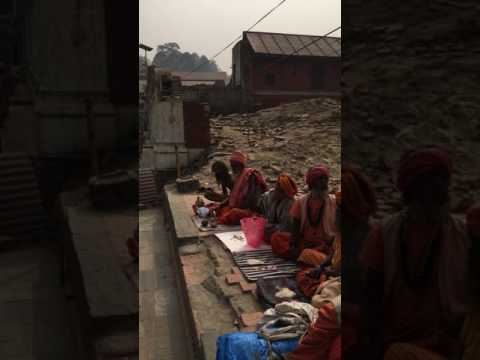 Holy tour in nepal