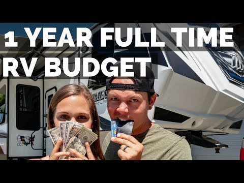 1 Year Costs of RV Living Full Time 💰| Expenses, Budget & Planning | How To RV