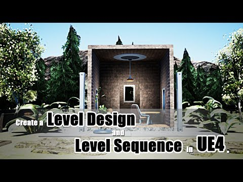 Create a Level Design & Level Sequence in UE4 on Pantone Canvas Gallery