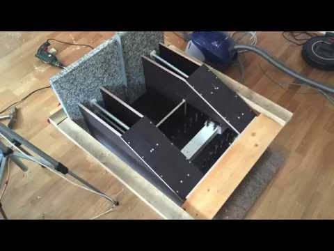DIY Epoxy Granite CNC Milling Machine Mold for the Bridge Part1