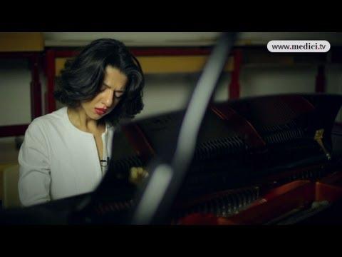 2012 Verbier Festival - interview #10 - Khatia Buniatishvili