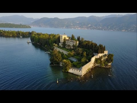 DJI MAVIC PRO - Lake Garda around Gardone Riviera