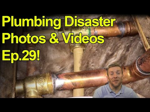 PLUMBING DISASTERS 29 - Videos And Photos