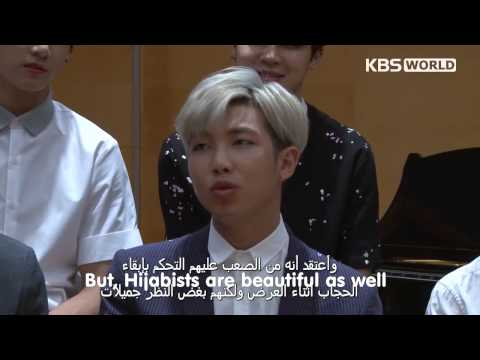 [Eng Sub] 150529 KBS World Arabic Star Interview with BTS PA